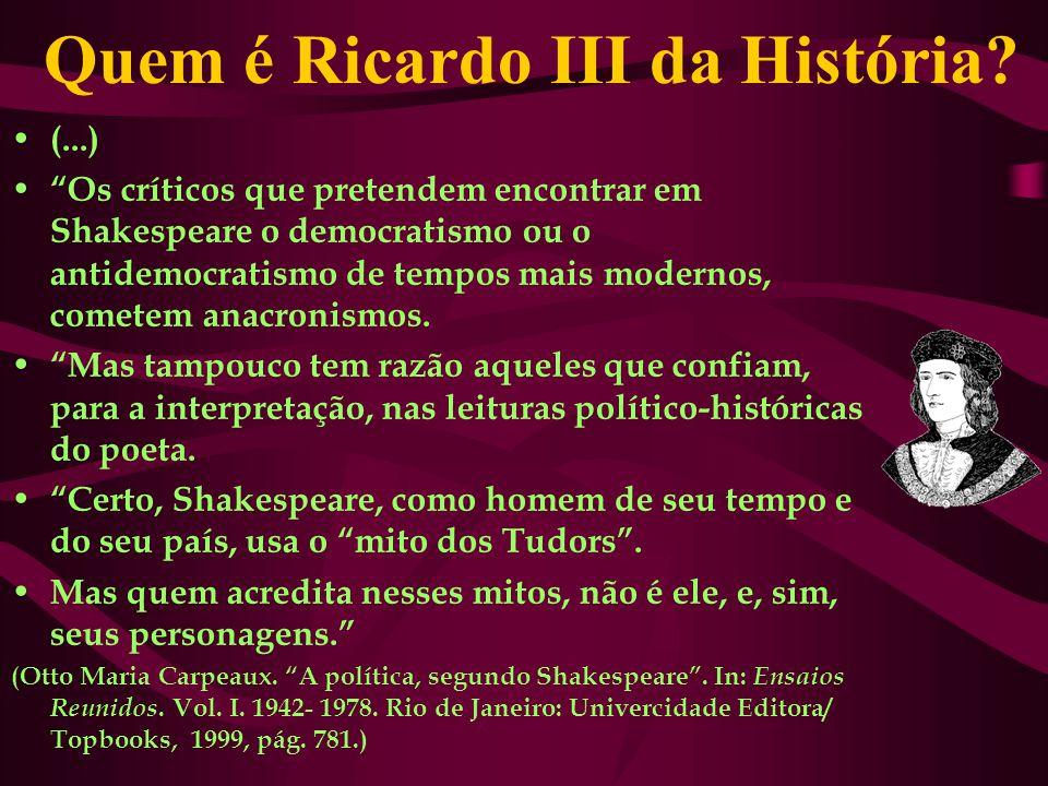 Quem é Ricardo III da História.