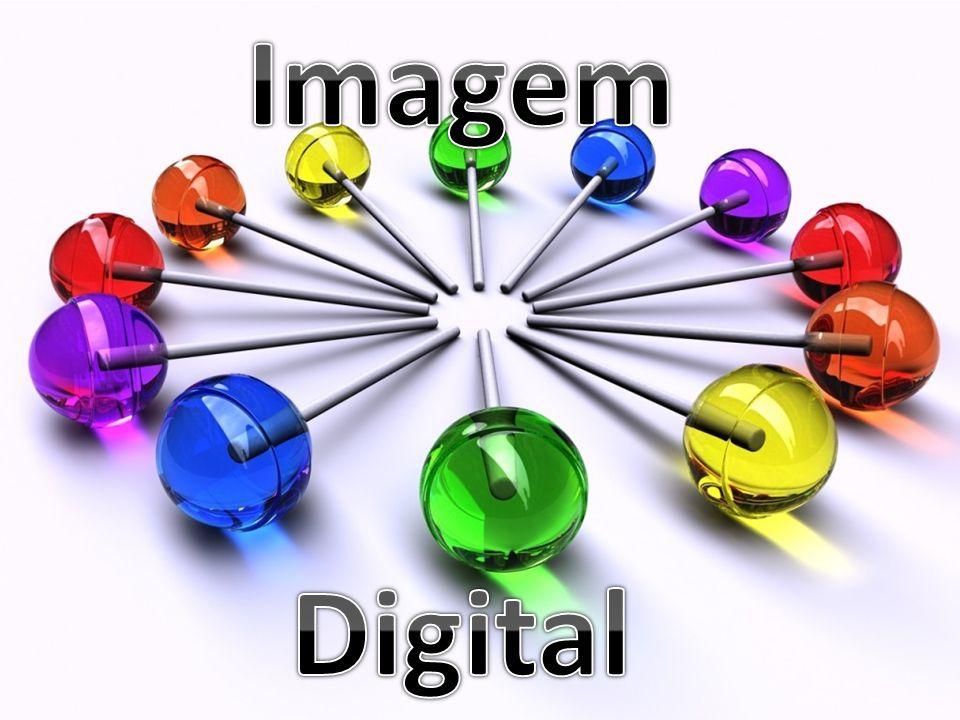 A imagem é o resultado de estímulos luminosos associados à retina do olho A imagem digital é a representação de uma imagem bidimensional usando números binários codificados (0,1)
