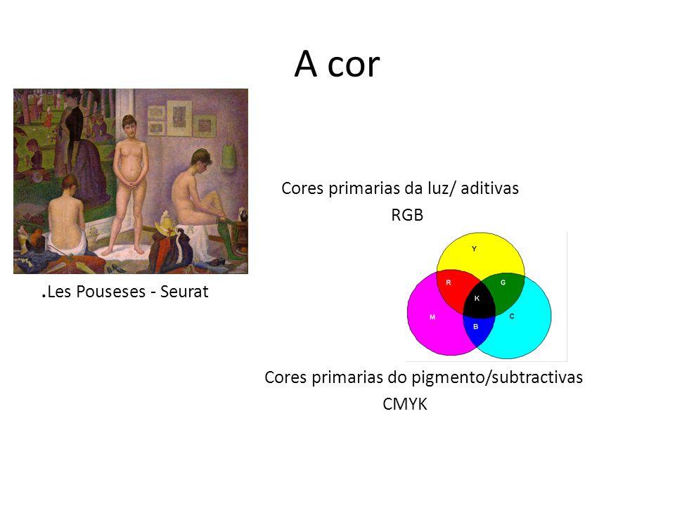 Canais de cor Imagem – pilha de canais cada cor primaria utiliza um canal de cor – 8 bits RGB 24 bits
