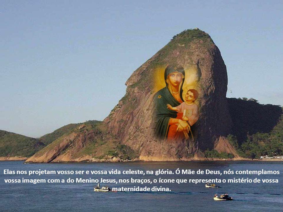 Ó Maria, nós veneramos vossa imagem em tantas imagens que de vós compuseram.