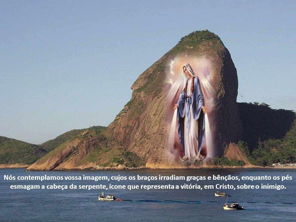 Sois a Mãe de Jesus Cristo, o Verbo de Deus feito homem para nos salvar.