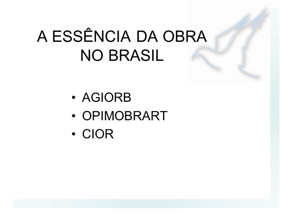A ESSÊNCIA DA OBRA NO BRASIL AGIORB OPIMOBRART CIOR