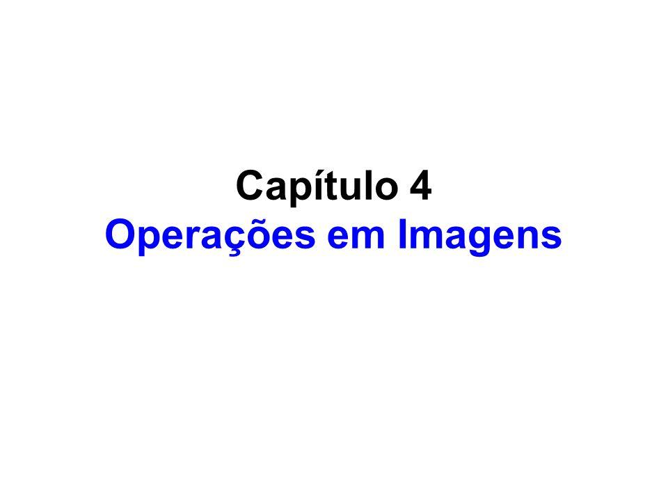 Capítulo 4 Operações em Imagens