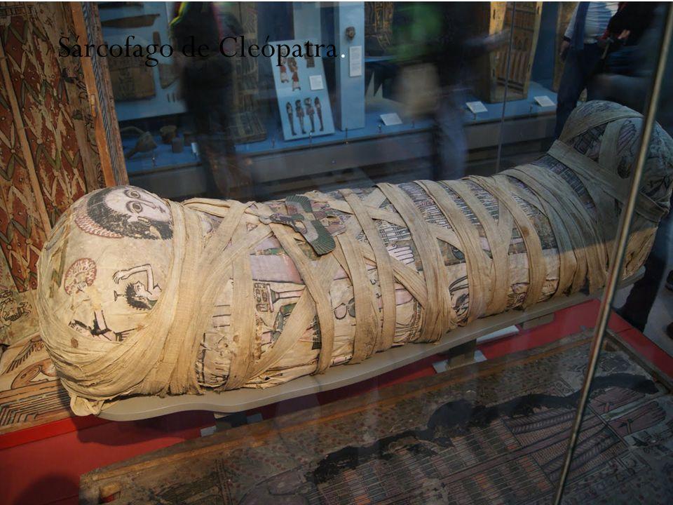 Sárcofago de Cleópatra.