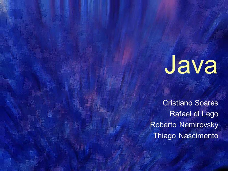 Sun Microsystems Fundada em 1982, introduzindo o primeiro workstation Em 1987 foi líder no comércio de workstations Em 1993 atinge a marca de 1 milhão de sistemas distribuidos (UNIX) Em 1995 lança a linguagem Java, designada para a Internet e para Intranets corporativas Em 1998 lança a segunda versão do Java, oferecendo mais velocidade, flexibilidade e um conjunto completo de classes-base.