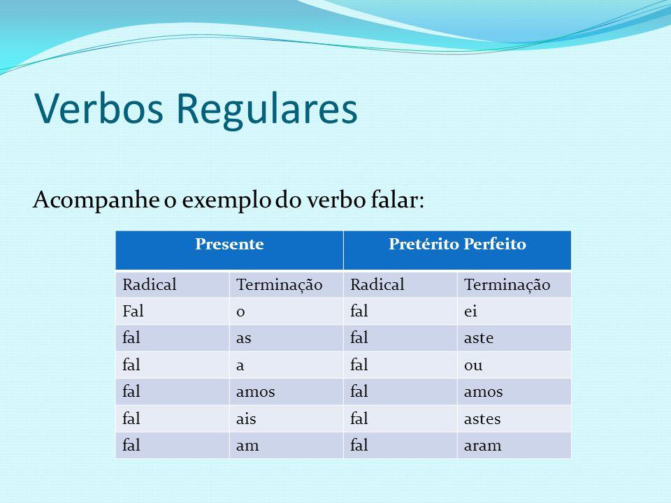 O verbo é a palavra mais variável de qualquer língua, pois varia em modo, tempo, número, pessoa e voz.