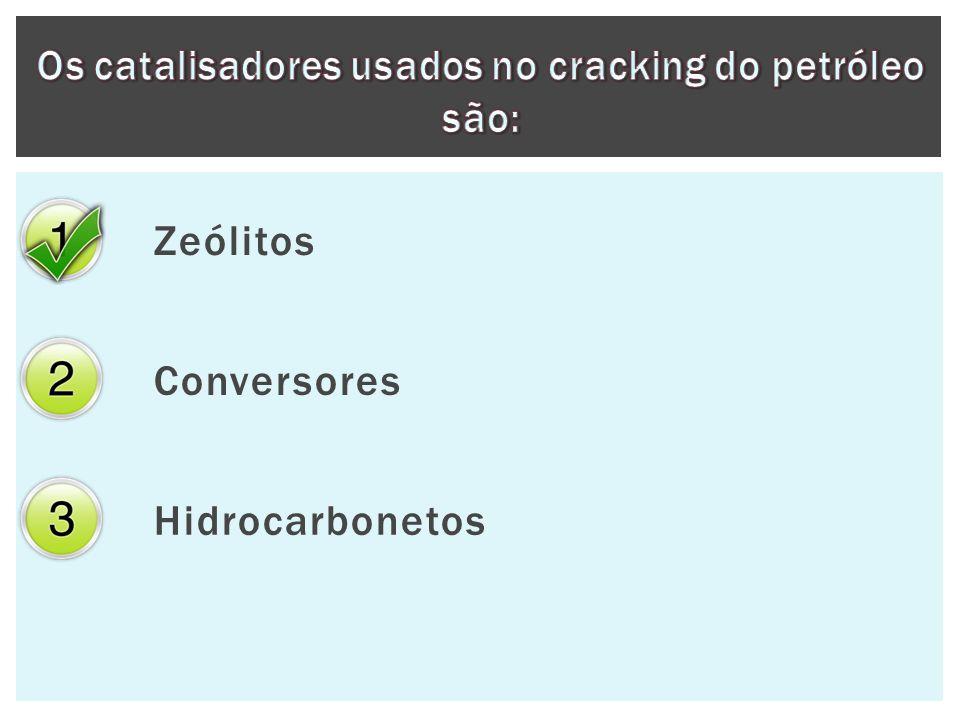 Zeólitos Conversores Hidrocarbonetos