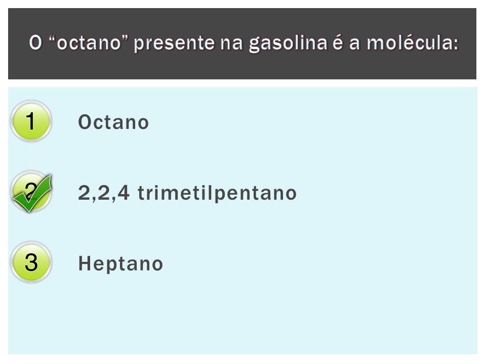 Octano 2,2,4 trimetilpentano Heptano