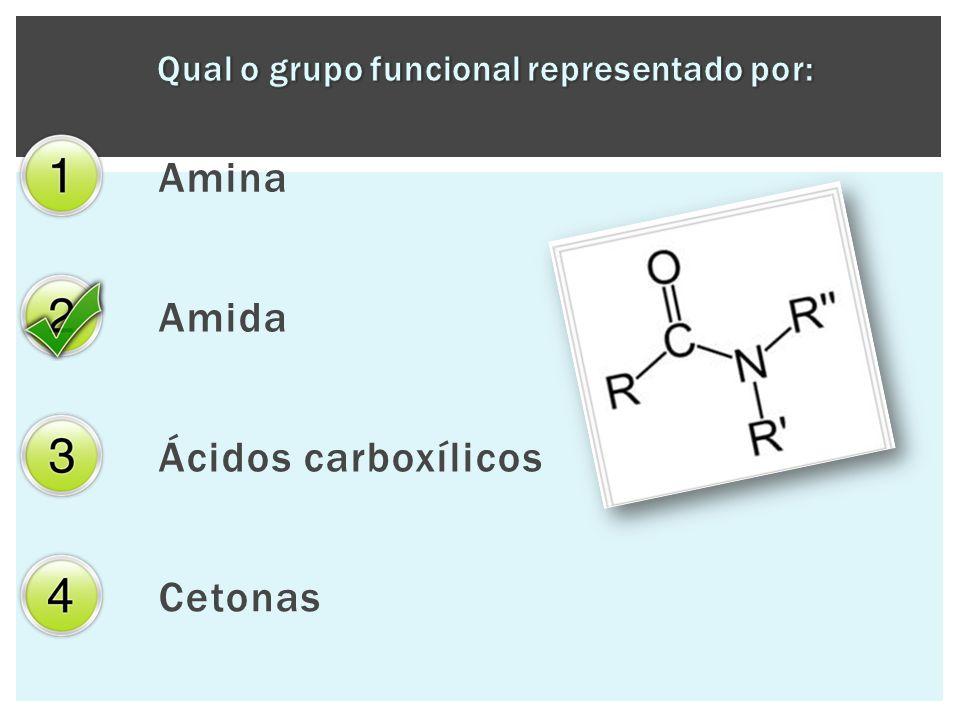 Amina Amida Ácidos carboxílicos Cetonas