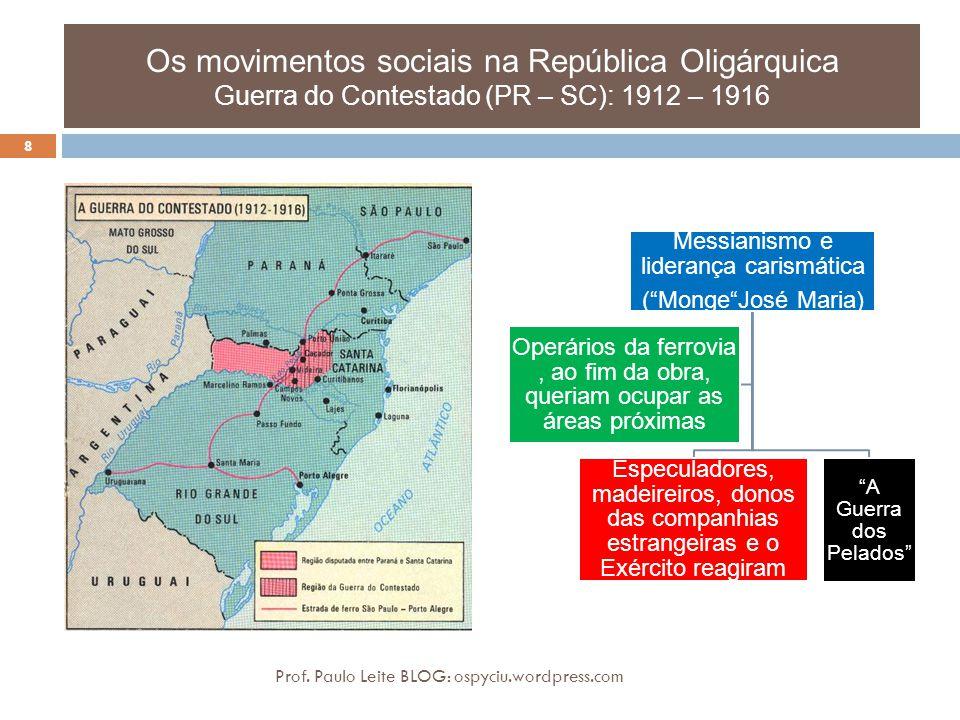 Os movimentos sociais na República Oligárquica o Cangaço (final do séc.