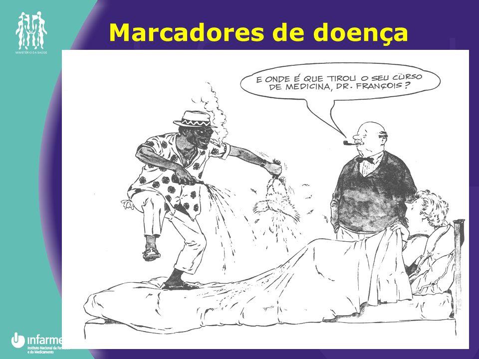 Bioquímicos Farmacológicos (...), fisiopatológicos Anátomo-patológicos Clínicos –Primários ou secundários.