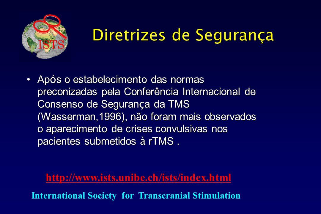 Diretrizes de Segurança Ap ó s o estabelecimento das normas preconizadas pela Conferência Internacional de Consenso de Seguran ç a da TMS (Wasserman,1
