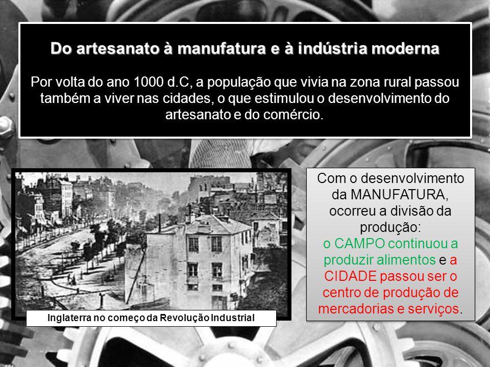 Do manufatura para a indústria Do manufatura para a indústria 3ª Revolução Industrial