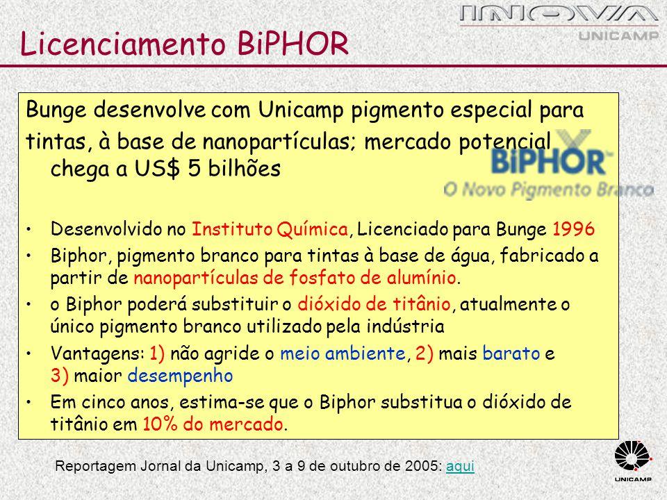 Bunge desenvolve com Unicamp pigmento especial para tintas, à base de nanopartículas; mercado potencial chega a US$ 5 bilhões Desenvolvido no Institut