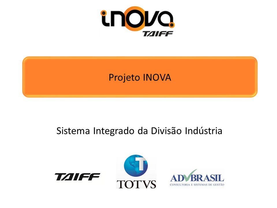 Projeto INOVA Sistema Integrado da Divisão Indústria