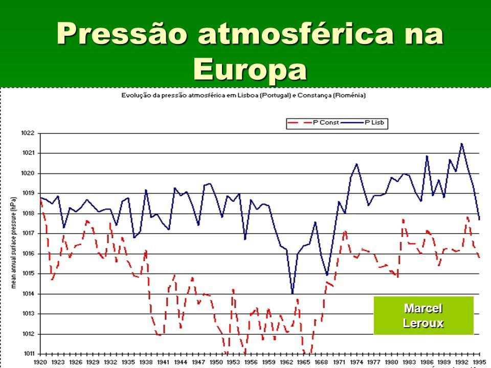 Pressão atmosférica na Europa MarcelLeroux