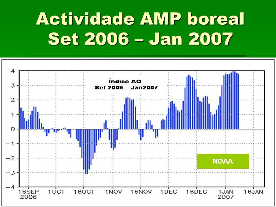 Actividade AMP boreal Set 2006 – Jan 2007 NOAA