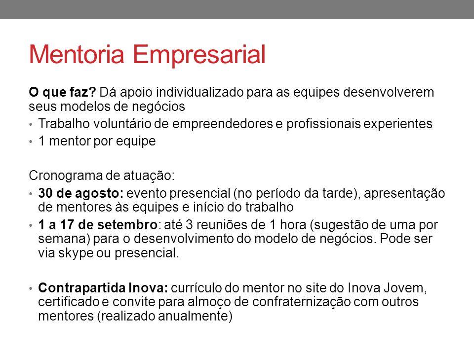 Mentoria Empresarial O que faz.