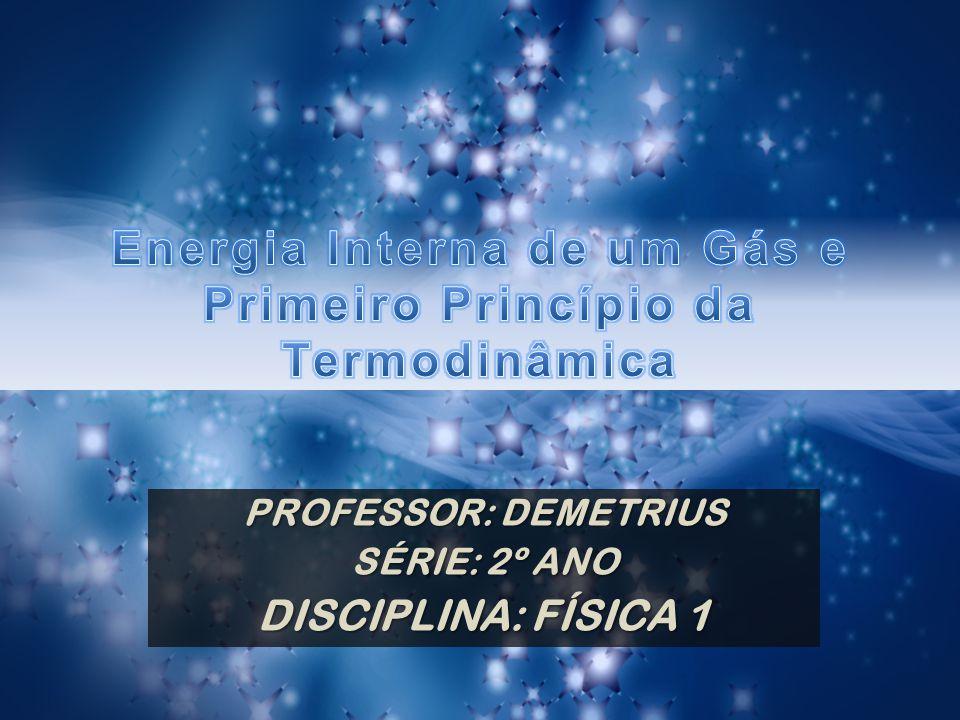 Primeira Lei da Termodinâmica: uma ideia geral...
