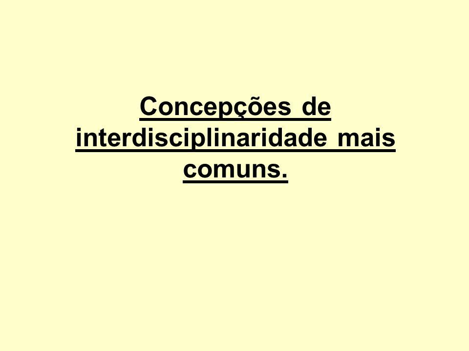 Interdisciplinaridade heterogênea Vem a ser uma espécie de enciclopedismo, baseada na soma de informações procedentes de diversas disciplinas.