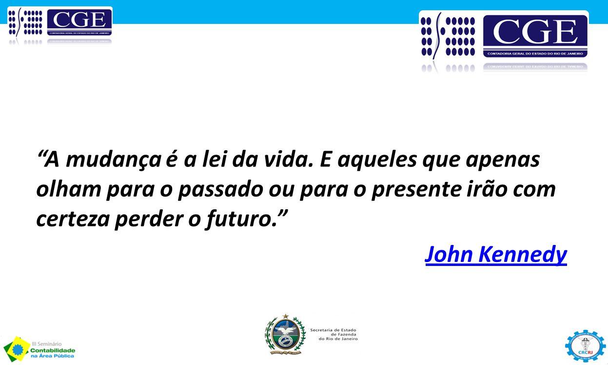 """""""A mudança é a lei da vida. E aqueles que apenas olham para o passado ou para o presente irão com certeza perder o futuro."""" John Kennedy"""