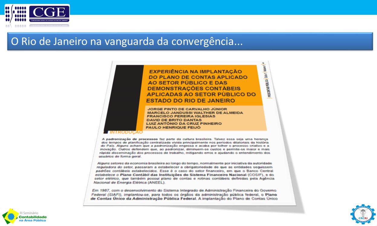 O Rio de Janeiro na vanguarda da convergência...