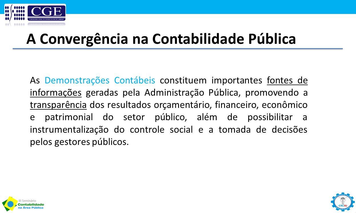As Demonstrações Contábeis constituem importantes fontes de informações geradas pela Administração Pública, promovendo a transparência dos resultados