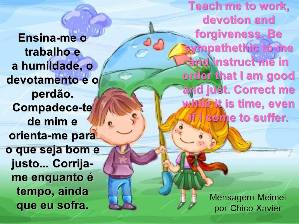 Não sou simples ornamento de teu caminho. I am not simply an ornament in your path.