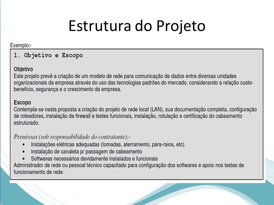 Estrutura do Projeto Diagrama de Topologia
