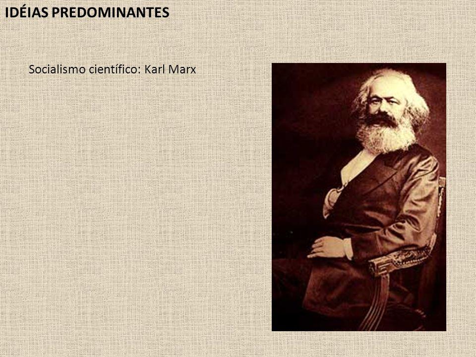 Socialismo científico: Karl Marx