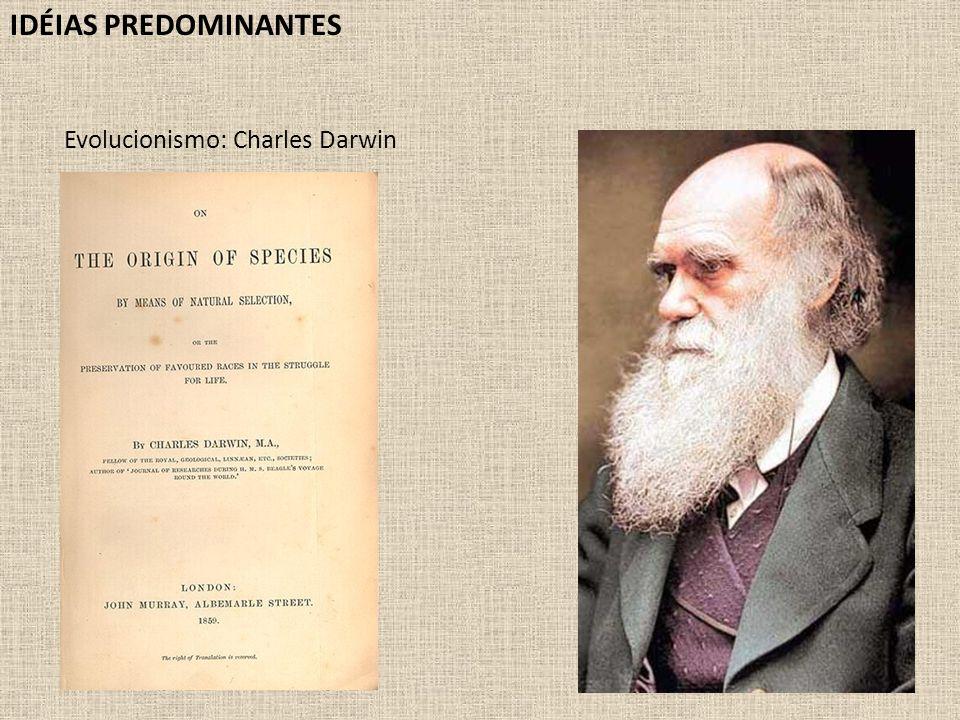 Evolucionismo: Charles Darwin