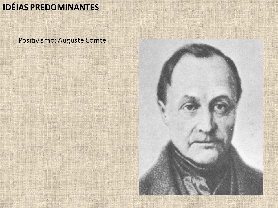 Positivismo: Auguste Comte