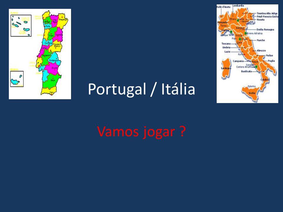 Portugal / Itália Vamos jogar ?