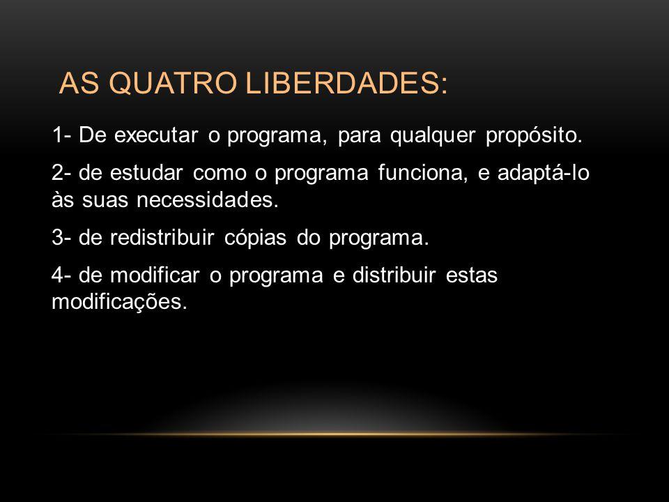 REFERÊNCIAS http://www.egov.ufsc.br/portal/sites/default/files/anexos/29624- 29640-1-PB.pdf.http://www.egov.ufsc.br/portal/sites/default/files/anexos/29624- 29640-1-PB.pdf http://pt.wikipedia.org/wiki/Software http://pt.wikipedia.org/wiki/Software_livre http://www.youtube.com/watch?v=IJrfcQq_eIw http://www.youtube.com/watch?v=IdX72gi-peo