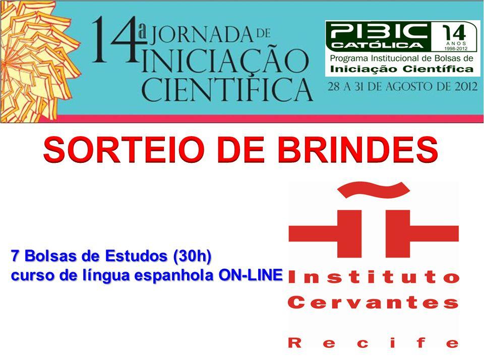 7 Bolsas de Estudos (30h) curso de língua espanhola ON-LINE