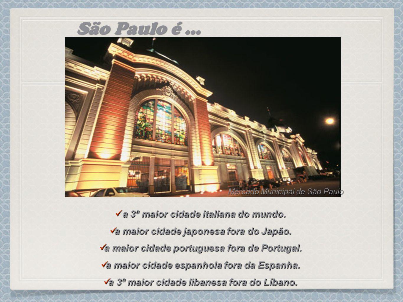 a 3ª maior cidade italiana do mundo. a 3ª maior cidade italiana do mundo. a maior cidade japonesa fora do Japão. a maior cidade japonesa fora do Japão