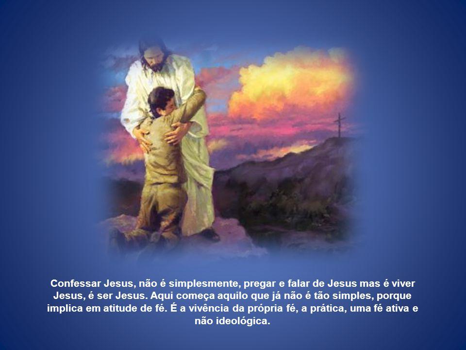 Ser de Jesus é ser diferente. Diferente é aquele onde o coração se torna mais compassivo, mais misericordioso, mais bondoso, mais limpo, mais verdadei