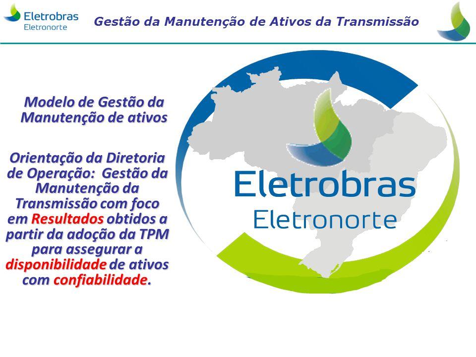 Gestão da Manutenção de Ativos da Transmissão 1 Modelo de Gestão da Manutenção de ativos Orientação da Diretoria de Operação: Gestão da Manutenção da