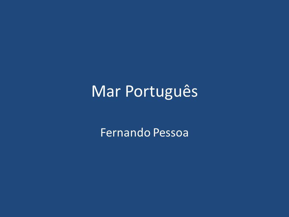 Mar Português Fernando Pessoa