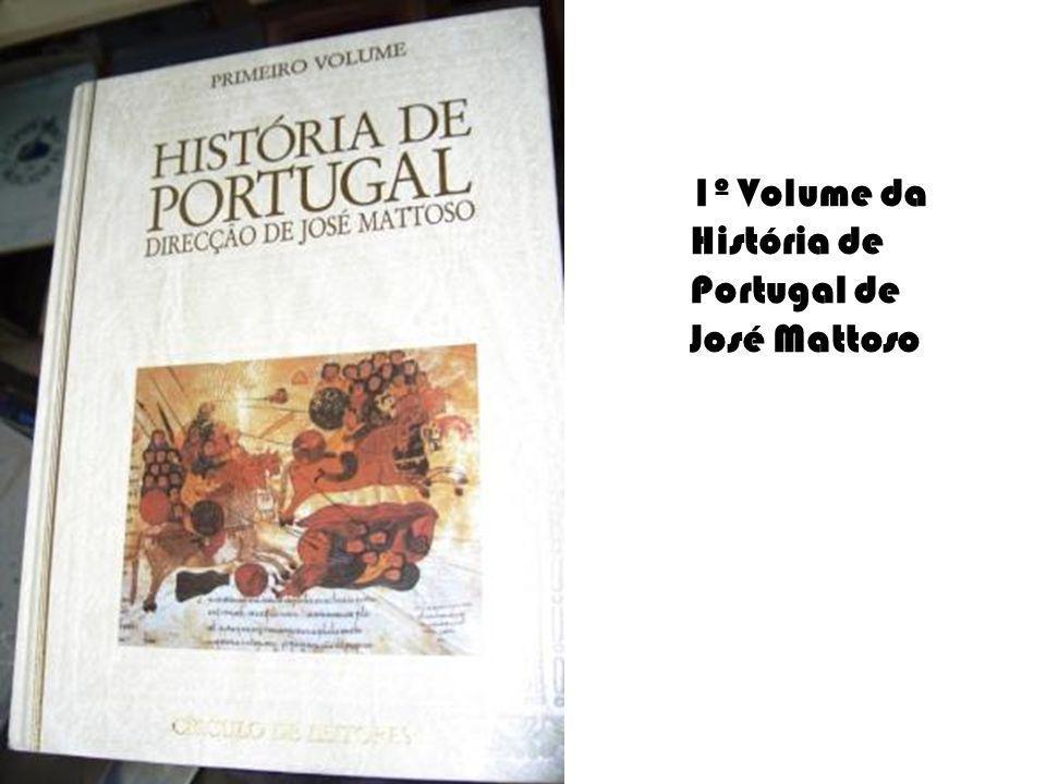 1º Volume da História de Portugal de José Mattoso