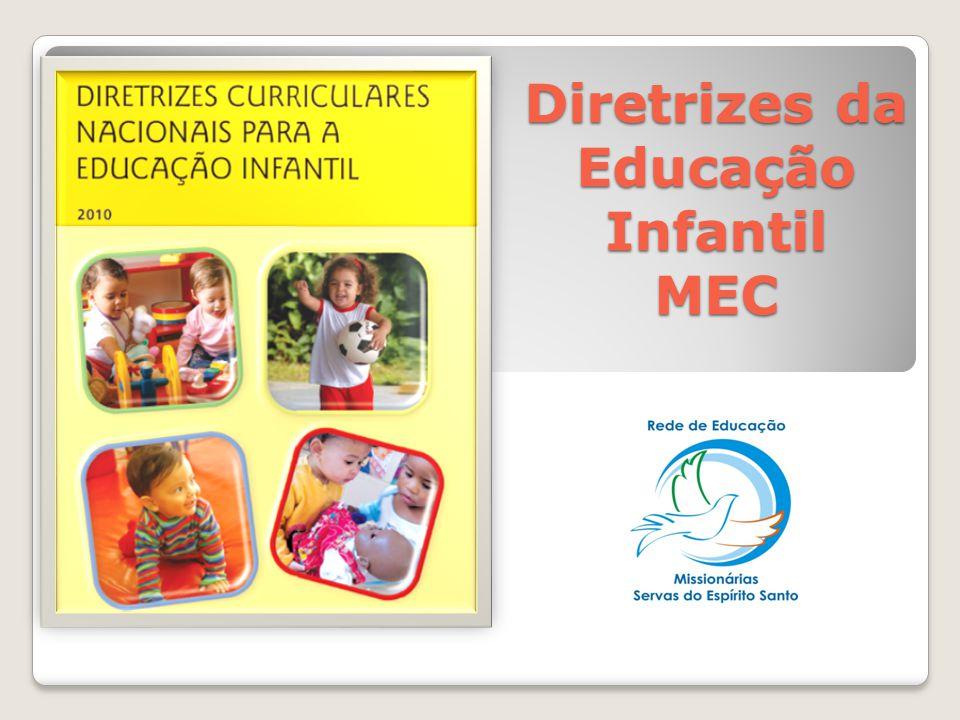 Diretrizes da Educação Infantil MEC