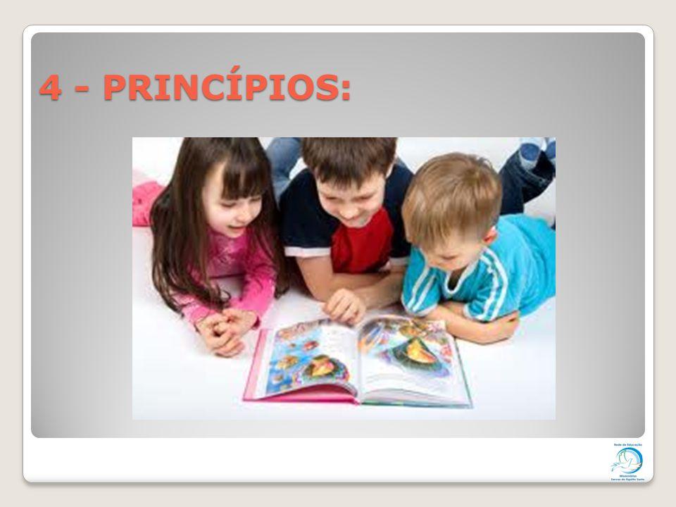 4 - PRINCÍPIOS: