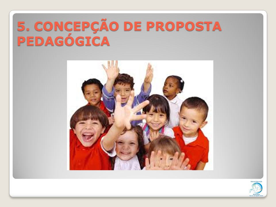 5. CONCEPÇÃO DE PROPOSTA PEDAGÓGICA