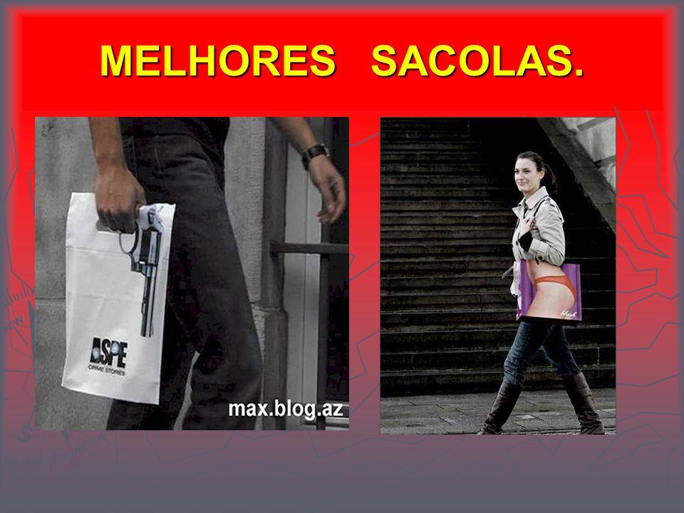 MELHORES SACOLAS.