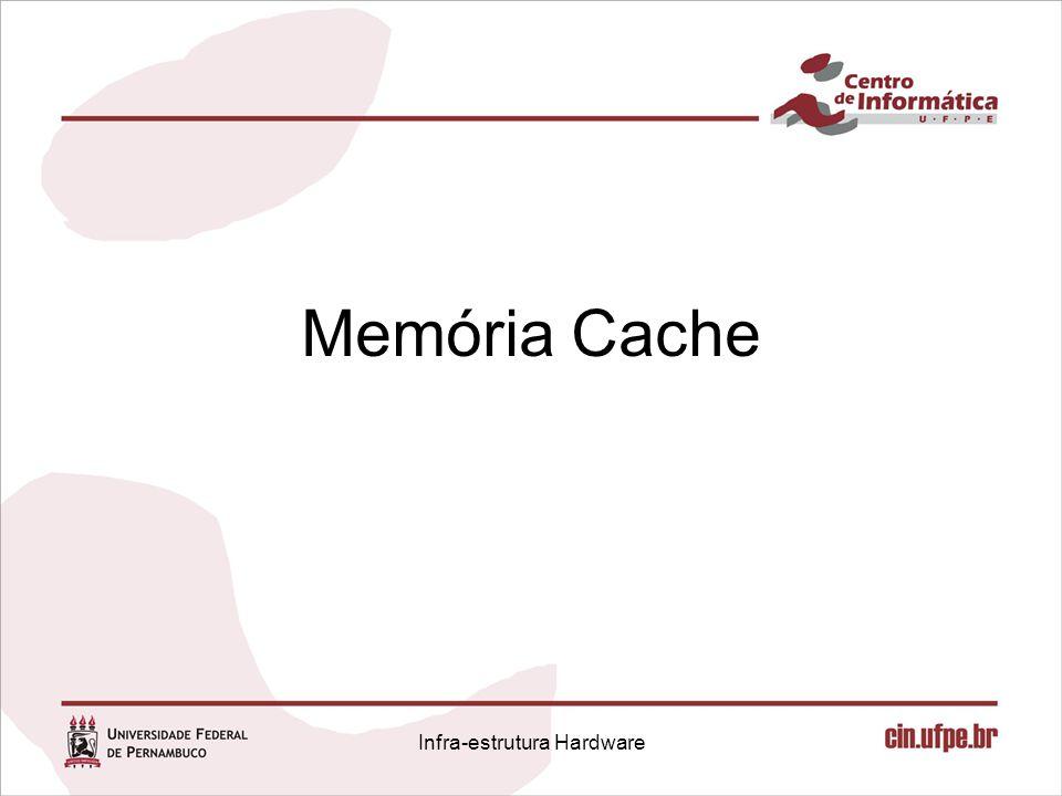 Memória Cache Infra-estrutura Hardware