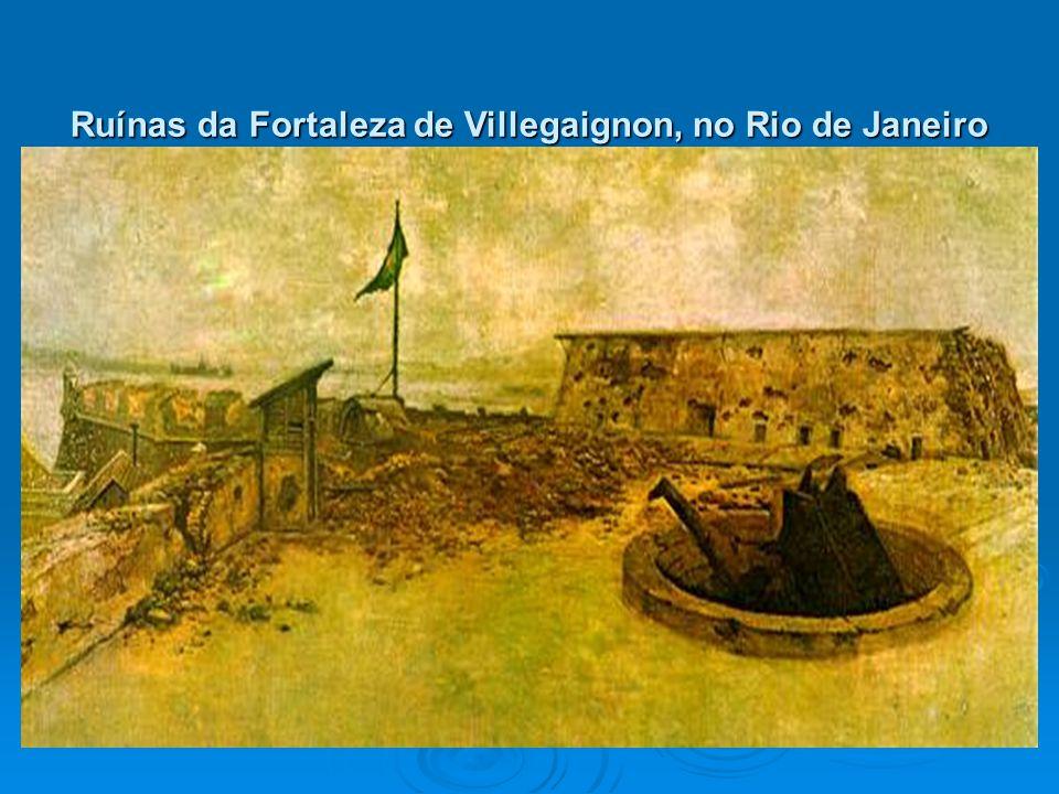 Ruínas da Fortaleza de Villegaignon, no Rio de Janeiro