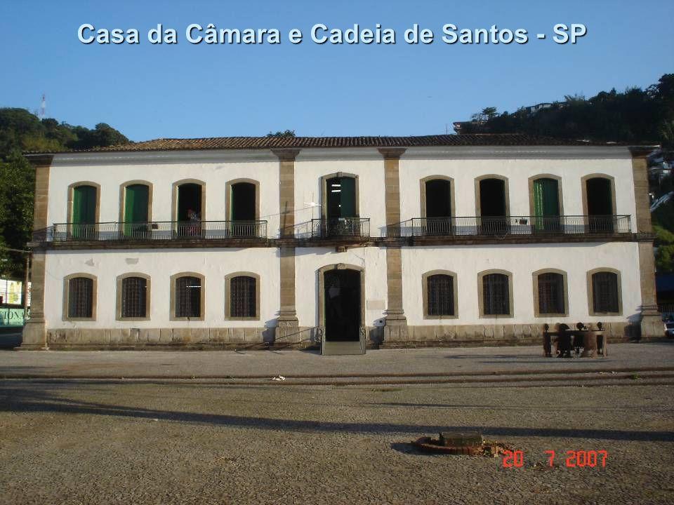 Casa da Câmara e Cadeia de Santos - SP