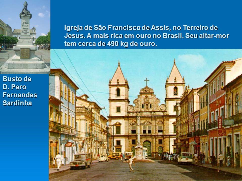 Igreja de São Francisco de Assis, no Terreiro de Jesus.