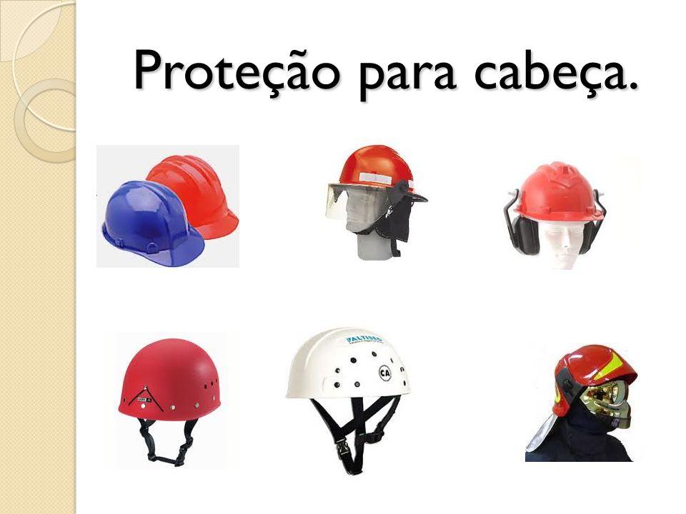 Proteção para cabeça.
