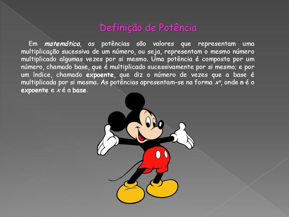 matemática expoente n expoentebase Em matemática, as potências são valores que representam uma multiplicação sucessiva de um número, ou seja, represen